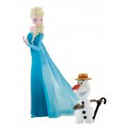 FROZEN Disney ELSA e OLAF  Box 2 Figure  Originali BULLYLAND