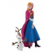 FROZEN Disney ANNA and OLAF  BOX 2 Figures Original BULLYLAND