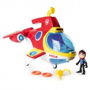 Ryder's SUB PATROLLER Rescue SUBMARINE PLANE Paw Patrol ELECTRONIC Sounds Lights ROBO DOG