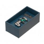 HARRY POTTER Box SET 3 ANELLI Casa di SERPEVERDE Originali UFFICIALI