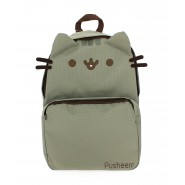 School Backpack PUSHEEN Cat GREY Big 39x27cm ORIGINAL