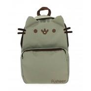 Zaino Scuola PUSHEEN Gatto GRIGIO Grande 39x27cm ORIGINALE Backpack