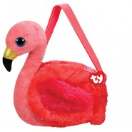 Shoulder Bag GILDA Pink Flamingo 20x15cm ORIGINAL Official TY Messenger
