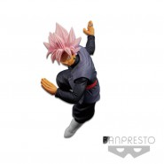 DRAGONBALL Figura Statua 19cm SON GOKU BLACK Super Saiyan GOD Rose FES 5 Banpresto