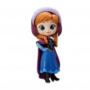 Figure Statue 14cm ANNA from Frozen NORMAL Version QPOSKET Banpresto DISNEY Elsa