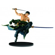 ONE PIECE Figura Statua RORONOA ZORO 16cm NORMAL COLOR Version WORLD FIGURE COLOSSEUM Banpresto