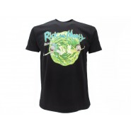 RICK AND MORTY Drowning T-SHIRT Jersey OFFICIAL Original