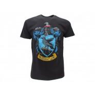 HARRY POTTER T-Shirt Maglietta STEMMA Casa CORVONERO Logo UFFICIALE Warner Bros