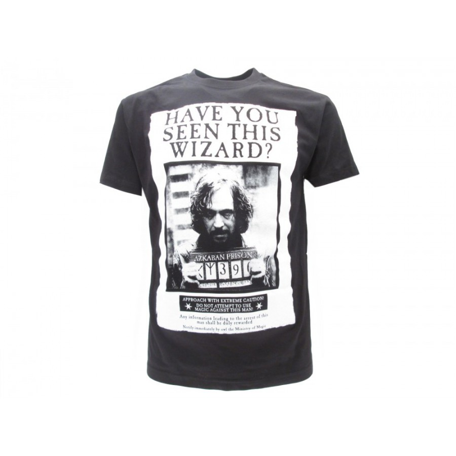 e138a2419c8e HARRY POTTER T-Shirt Jersey SIRIUS BLACK Have You Seen This Wizard ORIGINAL Warner  Bros ...
