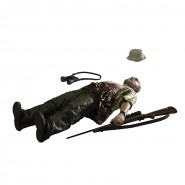 Action Figure 12cm DALE Lyind Dead from THE WALKING DEAD Original McFarlane USA