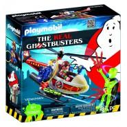 Playset VENKMAN CON ELICOTTERO dei GHOSTBUSTERS Playmobil 9385