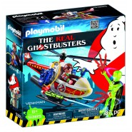 Playset VENKMAN WITH HELICOPTER From THE REAL GHOSTBUSTERS Playmobil 9385
