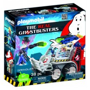 Playset SPENGLER con VEICOLO ACCHIAPPA FANTASMI da THE REAL GHOSTBUSTERS Playmobil 9385