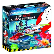 Playset ZEDDEMORE con ACQUA SCOOTER da THE REAL GHOSTBUSTERS Playmobil 9385