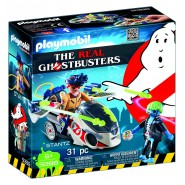 Playset STANTZ con MOTO VOLANTE da THE REAL GHOSTBUSTERS Playmobil 9388