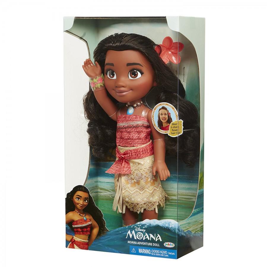 Figure ADULT MOANA Adventure Toddler Doll 35cm Movie VAIANA Official DISNEY Jakks Pacific