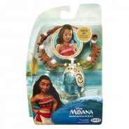 Vaiana 's MAGICAL NECKLAGE with Life PENDANT With LIGHT Official DISNEY Jakks Pacific OCEANIA MOANA