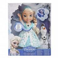 Figura Bambola 25cm ELSA CHE CANTA 35cm con OLAF Originale DISNEY Jakks Pacific