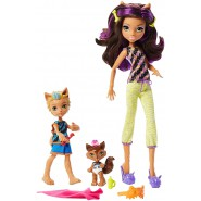 CLAWDEEN WOLF Family PACK 3 Dolls Figures from MONSTER HIGH Original Mattel FCV81