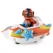 PAW PATROL Playset Vehicle ZUMA 's BOAT RESCUE CRAFT Transformer SEA PATROL Special Version SEA FRIEND with Extra