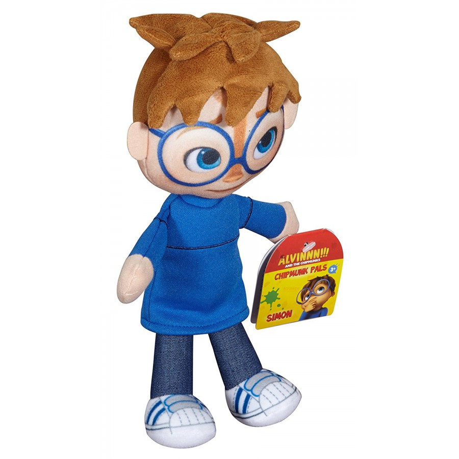 ... SIMON Peluche 22cm Personaggio BLU da ALVIN SUPERSTAR Originale Fisher Price Chipmunks