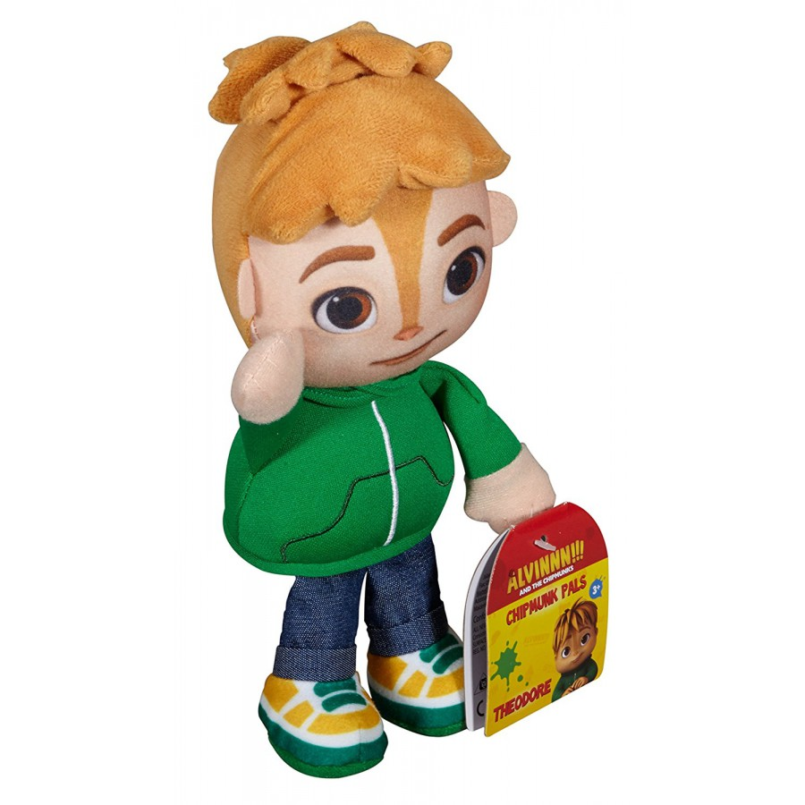 ... THEODORE Peluche 22cm Personaggio VERDE da ALVIN SUPERSTAR Originale Fisher Price Chipmunks