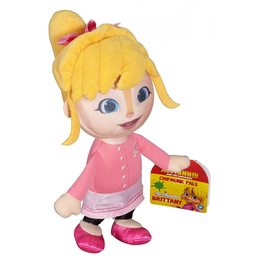 ... BRITTANY Peluche 20cm Personaggio Ragazza da ALVIN SUPERSTAR Originale Fisher Price Chipmunks
