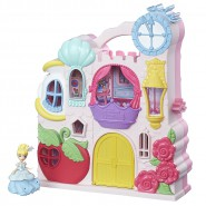 DISNEY PRINCESS  Little Kingdom CASTLE Play And Carry DISNEY Playset HASBRO B6317