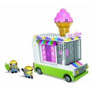 Playset CAMIONCINO DEI GELATI Ice Scream Truck Cattivissimo Me COSTRUZIONI Mega