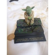 Star Wars YODA JEDI Rare TRADING FIGURE Mini Diorama TOMY JAPAN