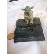 Star Wars YODA Maestro JEDI Rara FIGURA Mini Diorama Trading Figure TOMY JAPAN