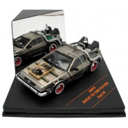 BACK TO THE FUTURE 3 Model DE LOREAN (without rails) Scale 1:43 ORIGINAL Vitesse 24014