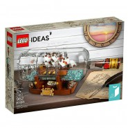 SHIP IN A BOTTLE Building Playset LEGO Ideas 21313