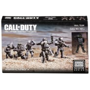 Soldiers Set SEAL TEAM From Videogame COD Call Of Duty KIT Mega Bloks