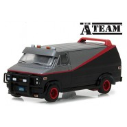 A-TEAM Model Car Van GMC VANDURA 1983 B.A. BARACUS Scale 1/64 ORIGINAL Greenlight