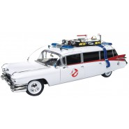 ECTO-1 DieCast Model 30cm Scale 1/18 From GHOSTBUSTERS  Cadillac 1959 ORIGINAL Autoworld