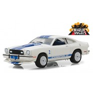 CHARLIE'S ANGELS Modello DieCast FORD MUSTANG Cobra 2 di JILL Scala 1/64 ORIGINALE Greenlight