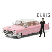 Model ELVIS PRESLEY's 1955 CADILLAC FLEETWOOD With FIGURE 1/43 Greenlight