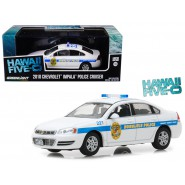 Modello DieCast Auto Polizia CHEVROLET IMPALA 2010 da Serie Tv HAWAII FIVE-O Scala 1/43 ORIGINALE Greenlight