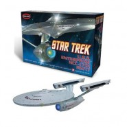 STAR TREK Modellino Kit ENTERPRISE NCC-1701 REFIT Snap Kit Scala 1:1000 Polar Lights
