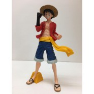 ONE PIECE Figura Statua 23cm MONKEY D. RUFY LUFFY Jump 50th Anniversary BANPRESTO Japan