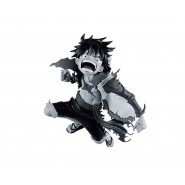 ONE PIECE Figure Statue 16cm MONKEY LUFFY BLACK AND WHITE VERSION Battle  World Colosseum 4 BANPRESTO Japan