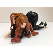 LUPIN Figura Statua 20cm FUJIKO MINE Versione NERA Groovy Baby Shot 6 VI Originale BANPRESTO Giappone