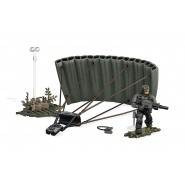 Building Playset JUNGLE PARATROOPER with SOLDIER From Videogame COD Call Of Duty MEGA