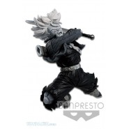 DRAGONBALL Figura Statua TRUNKS Super Saiyan BIANCA E NERA Variante 11cm Banpresto WORLD COLOSSEUM Figure BWCF