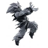 DRAGONBALL Figura Statua SON GOKU Super Saiyan VARIANTE BIANCO NERA 16cm Banpresto WORLD COLOSSEUM Figure BWCF