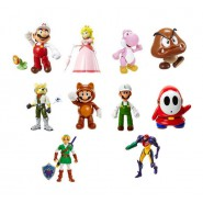 Figure Action WORLD OF NINTENDO Mario 11cm JAKKS PACIFIC Originale