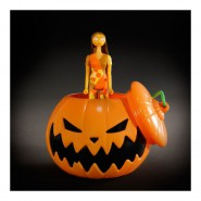 SALLY Coming Out from Halloween PUMPKIN Nightmare Before Xmas  Action FIGURE 10cm FUNKO ReACTION