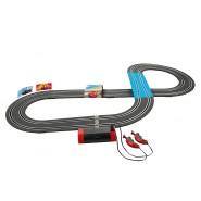 PISTA Elettrica CARS 3 Disney SAETTA McQueen contro JACKSON STORM 2,90 Metri - CARRERA FIRST