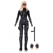 Figura Action 18cm BLACK CANARY da Serie Tv ARROW Originale DC COLLECTIBLES